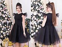 Платье праздничное с фатином