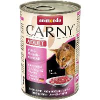"""Консервы Carny Adult """"Мультимясной коктейль"""" 11,5/6,5 (для взрослых кошек), 400г"""