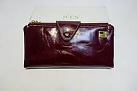 Кожаный кошелек JCCS JS3060 wine red