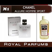 Духи на разлив Royal Parfums M-1 «Allure Homme Sport» от Chanel (replica)