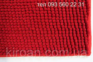 """Комплект ковриков из микрофибры """"Короткая лапша"""" (Красный), фото 2"""