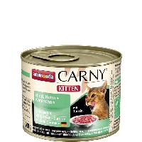 """Консервы Carny Kitten """"С говядиной, курицей и кроликом"""" 11/6 (для котят), 200г"""