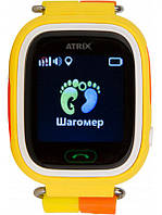Умные часы Atrix iQ400 Touch GPS Yellow