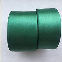 Атласная лента. тм.зеленый 12