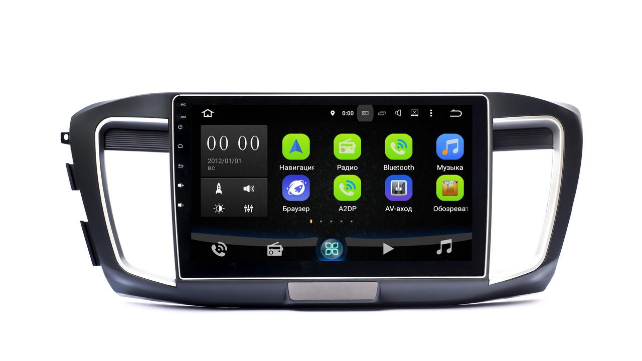 Штатная магнитола SB-1016 для Honda Accord 2013+ Sound Box