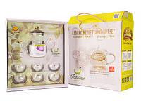 Стеклянный набор для чаепития