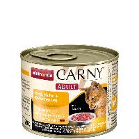 Консервы Carny Adult с говядиной, курицей и уткой (для взрослых кошек), 200г