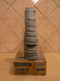 Toner  TN 101K .,оригинал Konica Minolta