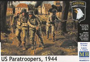Американские десантники 1944г. 1/35 MASTER BOX 3511