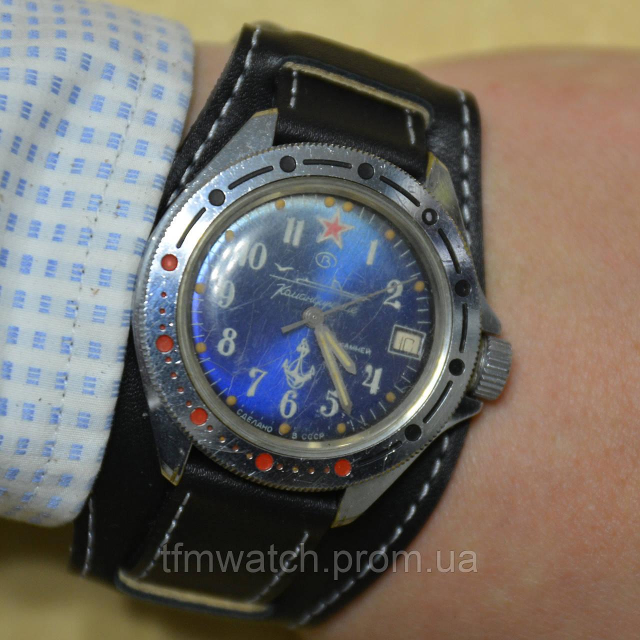 a1040b932c72 Командирские наручные механические часы СССР