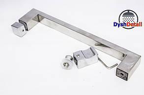 Ручка для дверей душевой кабины на два отверстия ( H-617 ) Металл.   , фото 3