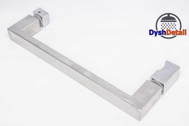 Ручка для дверей душевой кабины на два отверстия ( H-617 ) Метал.