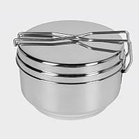 Набор посуды Helikon-Tex® Mess Tin - Stainless Steel - Стальной