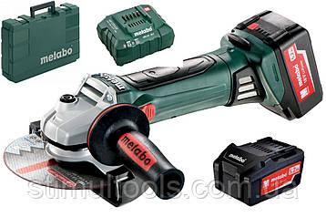 Аккумуляторная угловая шлифмашина (болгарка) Metabo W 18 LTX 150 Quick