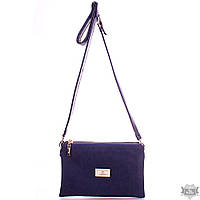 Женская сумка-клатч из эко-кожи и натуральной замши EUROPE MOB EM2-006