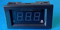 Амперметр V85DC до 50А (красные цифры) с шунтом
