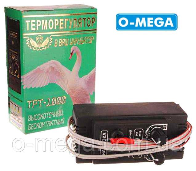 Терморегулятор для инкубатора ТРТ-1000 плавно затухающий с двумя регулировками Днепр