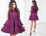 Платье (42,44,46) — костюмная купить оптом и в розницу в одессе  7км