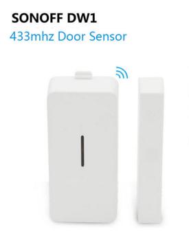Sonoff DW1 RF433 MHz датчик открытия двери окна беспроводной