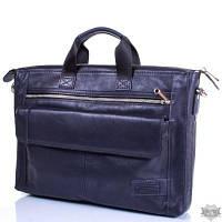 Кожаная мужская синяя сумка ETERNO ERM415BL