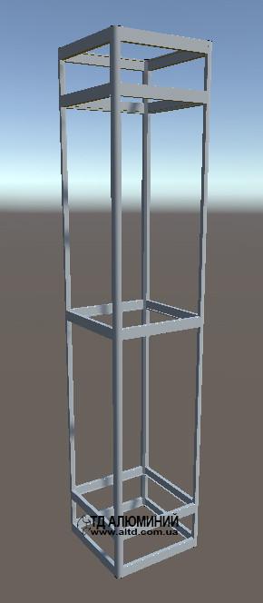 Торговая витрина | Конструктор из торговых профилей М-11