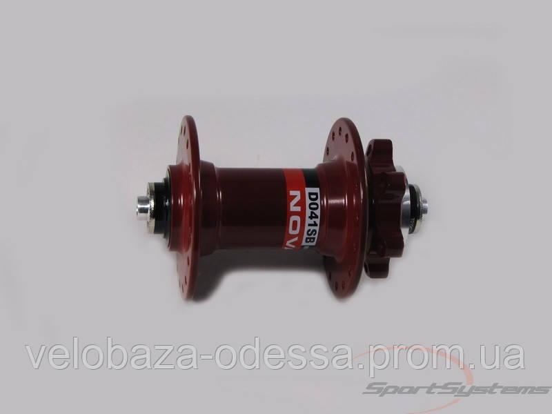 Передняя втулка Novatec  D041SB-32-RED
