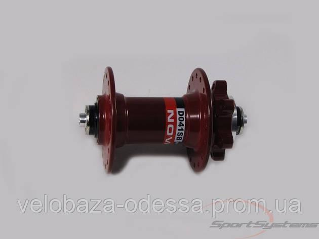 Передняя втулка Novatec  D041SB-32-RED, фото 2