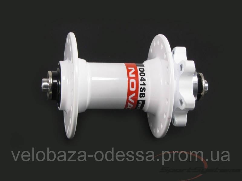 Передняя втулка Novatec  D041SB-36-WHT