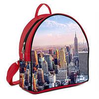 Красный ультра модный рюкзак