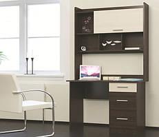 Комп'ютерний стіл Школяр-4 з Надбудовою (1100х550х1886)