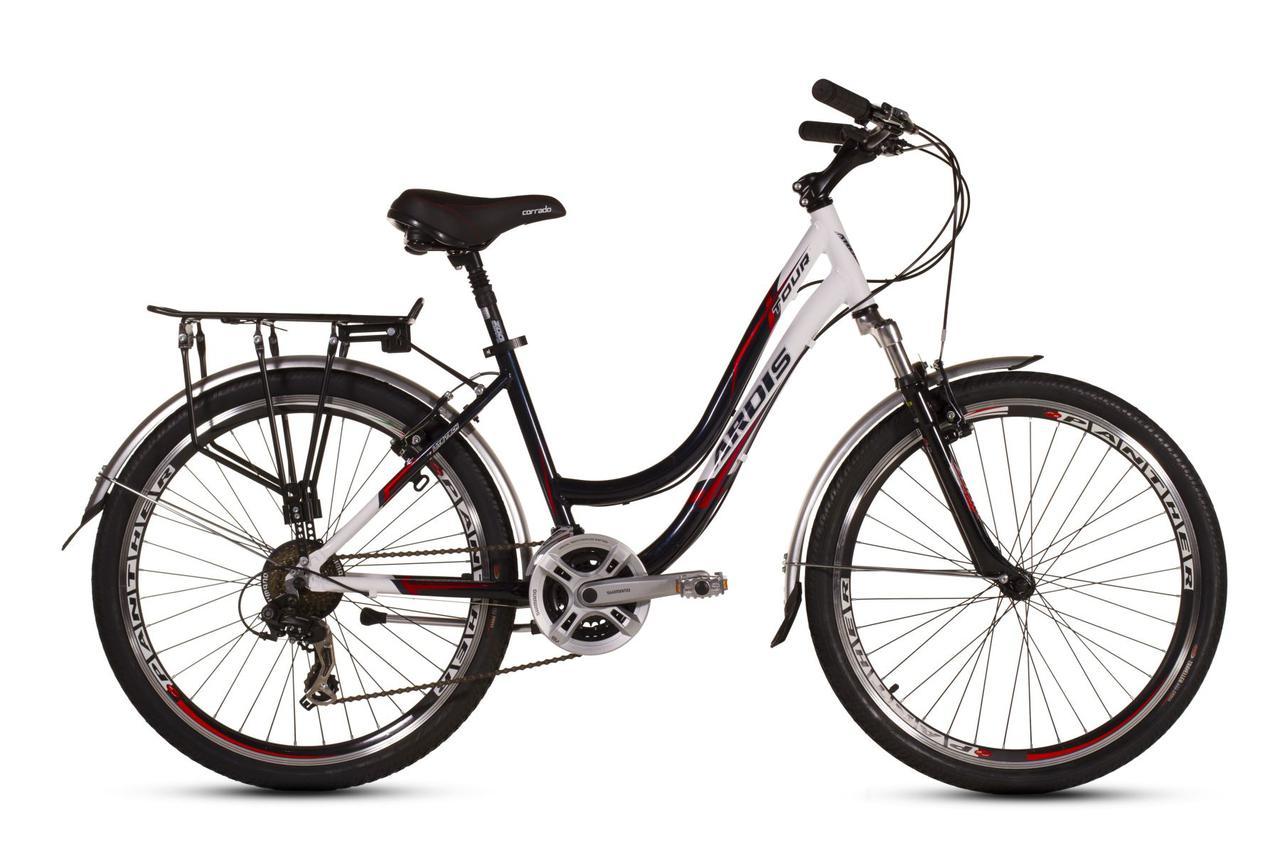 """Городской велосипед ARDIS TOUR CTB D 26"""" 19""""  Белый/Черный"""