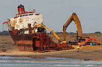 Демонтаж грузового, водного транспорта, жд вагонов и цистерн