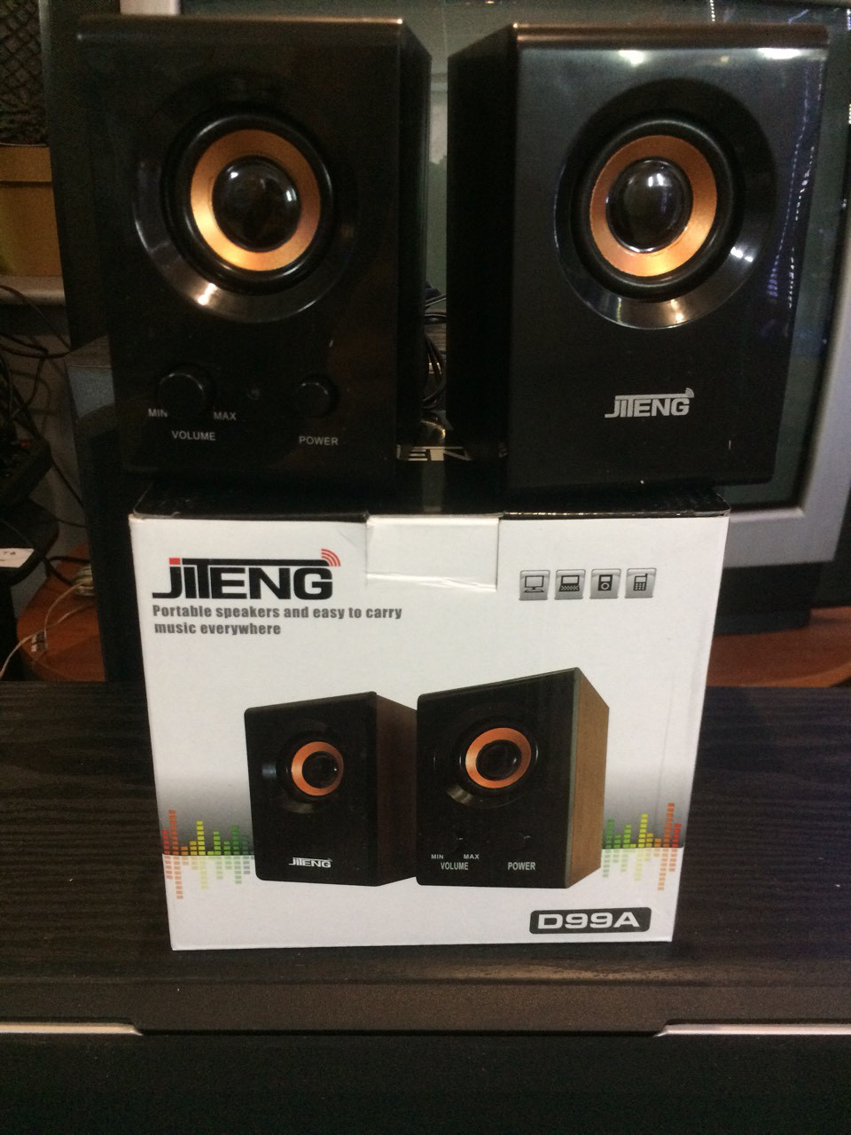 Компьютерные колонки Jiteng D99A