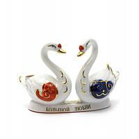 Статуэтка лебеди птицы любви