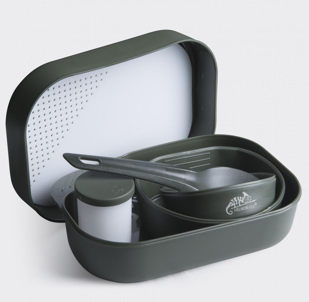 Набор посуды Wildo® CAMP-A-BOX® Complete - Олива