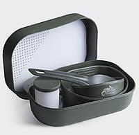 Набор посуды Wildo® CAMP-A-BOX® Complete - Олива, фото 1