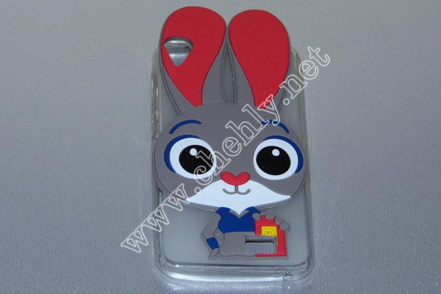 Силиконовый 3D чехол Кролик Джуди Хопс Зверополис Ergo A503 Optima