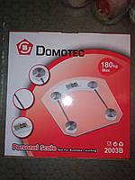 Весы электронные напольные DOMOTEC 2003 B 180kg