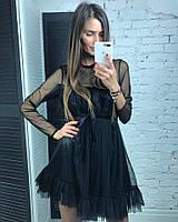 Красивое платье модного и оригинального фасона