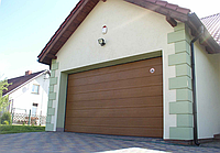 Ворота гаражные подъемные Алютех trend 1875 ш 2000 в, фото 1