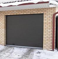 Ворота гаражные alutech trend с пружинами растяжения 2250 ш 2125 в, фото 1