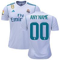 ДОПОЛНИТЕЛЬНАЯ УСЛУГА: Печать Номера и Фамилии на форме Реал Мадрида