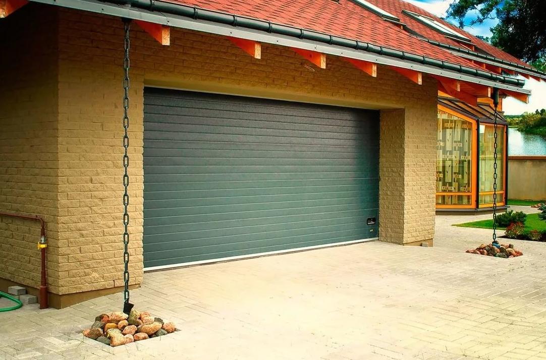 Ворота гаражные секционные в Украине alutech trend 4625 ш 2125 в