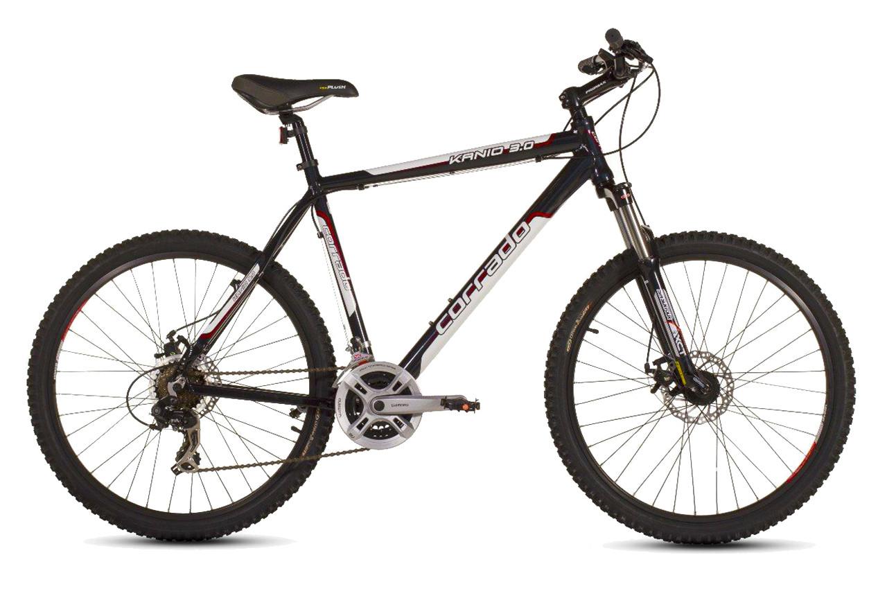 """Гірський велосипед CORRADO KANIO 3.0 26"""", Алюмінієвий,чорно-білий"""