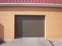 Ворота подъемные гаражные Alutech TREND 2625ш 1750в