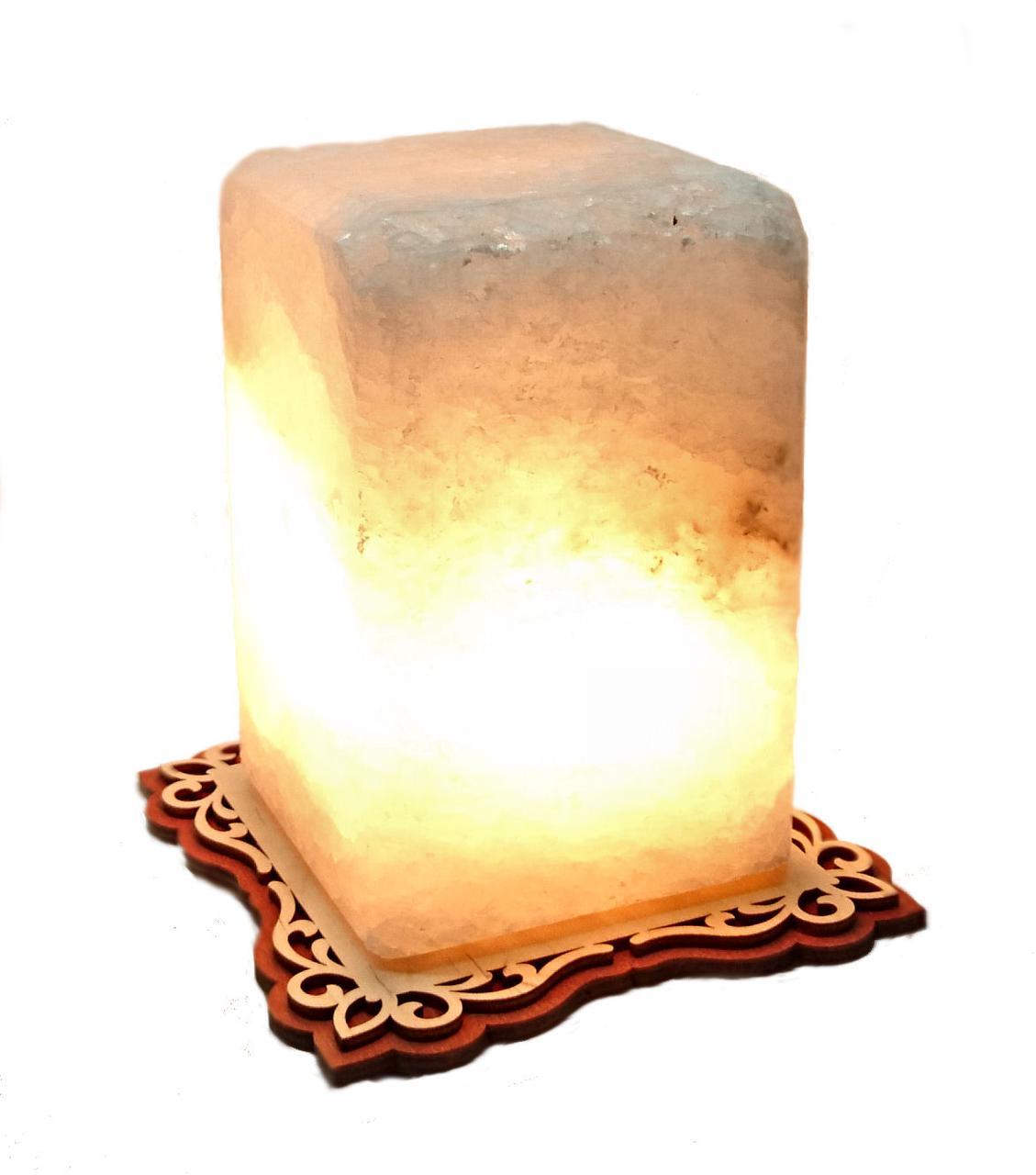 Соляной светильник Прямоугольный