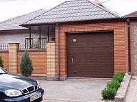Секционные гаражные ворота тренд 2750ш 1750в