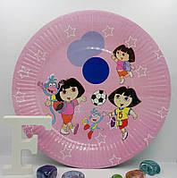 Тарелка детская Даша-путешественница 23 см