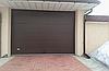 Секционные гаражные ворота alutech тренд 3500ш 1750в