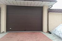 Секционные гаражные ворота alutech тренд 3500ш 1750в, фото 1
